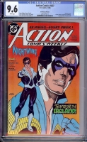 Action Comics #627 CGC 9.6 w Don Rosa Collection