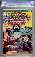 Captain America #179 CGC 9.4 ow/w