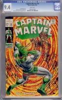 Captain Marvel #10 CGC 9.4 w