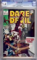 Daredevil #47 CGC 9.4 ow/w
