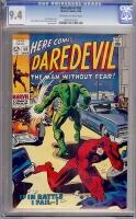 Daredevil #50 CGC 9.4 ow/w