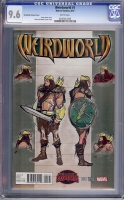 Weirdworld #1 CGC 9.6 w Del Mundo Variant Cover