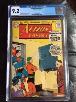 Action Comics #272 CGC 9.2 cr/ow