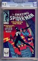 Amazing Spider-Man #252 CGC 9.2 w