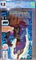 Iron Man #300 CGC 9.8 w