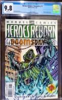 Heroes Reborn #1 CGC 9.8 w