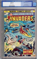 Invaders #1 CGC 9.6 ow/w