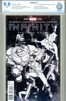 Infinity #1 CBCS 9.8 w