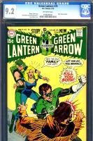 Green Lantern #78 CGC 9.2 ow