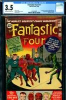 Fantastic Four #11 CGC 3.5 ow/w