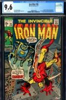 Iron Man #36 CGC 9.6 w