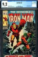 Iron Man #16 CGC 9.2 w