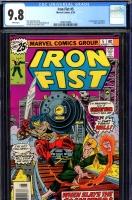 Iron Fist #5 CGC 9.8 w