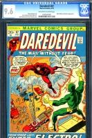 Daredevil #87 CGC 9.6 ow/w