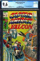Captain America #141 CGC 9.6 w