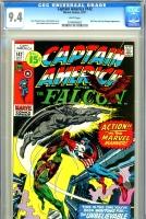 Captain America #142 CGC 9.4 w