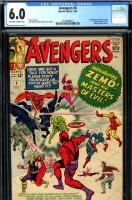 Avengers #6 CGC 6.0 ow/w
