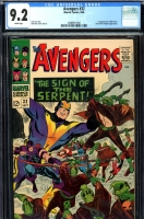 Avengers #32 CGC 9.2 w