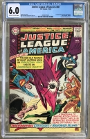Justice League of America #40 CGC 6.0 ow/w