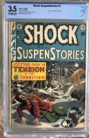 Shock SuspenStories #3 CBCS 3.5 n/a