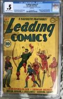 Leading Comics #1 CGC 0.5 cr/ow