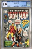 Iron Man #35 CGC 8.0 w