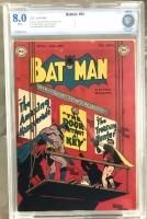 Batman #54 CBCS 8.0 w