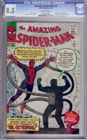 Amazing Spider-Man #3 CGC 8.5 ow