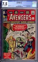 Avengers #1 CGC 7.5 ow