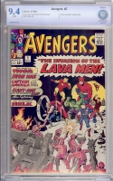 Avengers #5 CBCS 9.4 w