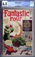 Fantastic Four #1 CGC 6.5 ow/w