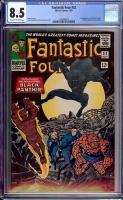 Fantastic Four #52 CGC 8.5 ow/w