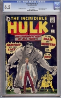 Incredible Hulk #1 CGC 6.5 w