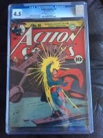 Action Comics #48 CGC 4.5 ow/w