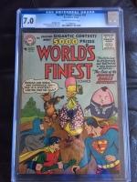 World's Finest Comics #83 CGC 7.0 cr/ow