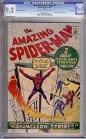 Amazing Spider-Man #1 CGC 9.2 ow/w Golden Record Reprint