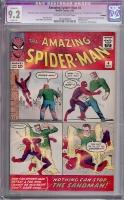 Amazing Spider-Man #4 CGC 9.2 ow/w