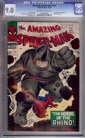 Amazing Spider-Man #41 CGC 9.0 ow/w