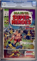 Marvel Super-Heroes #22 CGC 9.2 ow