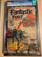 Fantastic Four #13 CGC 7.5 ow