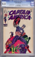 Captain America #111 CGC 8.5 cr/ow