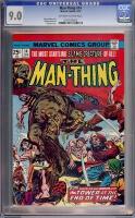 Man-Thing #14 CGC 9.0 ow/w