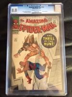 Amazing Spider-Man #34 CGC 8.0 ow/w