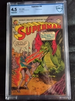 Superman #86 CBCS 4.5 cr/ow