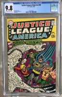 Justice League of America #68 CGC 9.8 ow/w