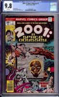 2001: A Space Odyssey #1 CGC 9.8 w