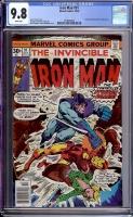 Iron Man #91 CGC 9.8 w