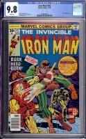 Iron Man #92 CGC 9.8 w