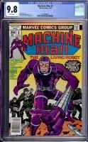 Machine Man #1 CGC 9.8 w