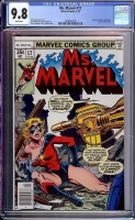 Ms. Marvel #17 CGC 9.8 w